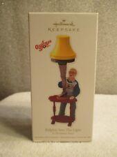 NEW 2012 Hallmark Ornament A Christmas Story Ralphie Sees The Light Leg Lamp FS