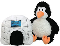 PENGUIN HAPPY NAPPERS PILLOW IN IGLOO PLUSH - NEW WITH MINOR DEFECT