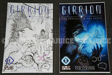 SIGNED GIRRION #1 SET TOM LINTERN COLOR / B&W ASHLEY WITTER EXCLUSIVE VARIANT