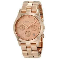 Marc Jacobs MBM3107 ROSE GOLD Chrono Henry Watch for Women