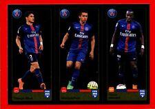 FIFA 365 2015-16 PANINI 2016 -Figurina Stiker- n. 443/444/445 - PSG -New