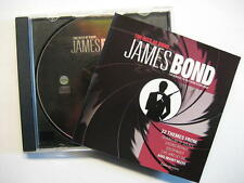 JAMES BOND 007 THE HITS OF BOND - CD - O.S.T. SOUNDTRACK SAMPLER COVER VERSIONS