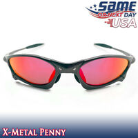 Penny X-Metal Polarized Sunglasses with Ruby Iridium Lenses & Metal Frames - USA