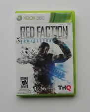 Red Faction: Armageddon (Microsoft Xbox 360, 2011)  COMPLETE   FAST SHIPPING !!!
