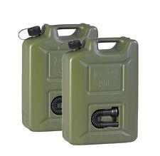 2x Benzinkanister 20L UN Kraftstoff Kanister Diesel Reserve Kunststoff 20 Liter