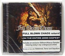 Full Blown Chaos: Within the Grasp of Titans ~ NEW CD (Jul-2006, Stillborn)