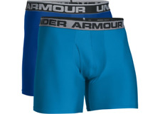 "Under Armour Men Underwear Blue UA Micro Boxerjock 6"" Boxer Brief Size XL"