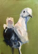 ACEO Original Oil Painting, Dove by Gary Bruton