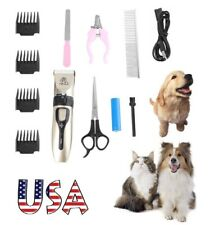 Pet Dogs Shaver Clippers Low Noise Rechargeable Cordless Trimmer Grooming Kits