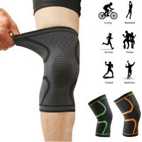 Elastic Knee Support Brace Basketball Running Compression Sleeve Knee Pads