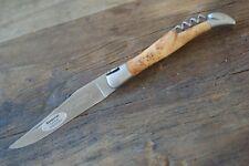 Laguiole en Aubrac Messer 12 cm Wacholder mit Korkenzieher