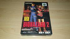 Biohazard 2 - Nintendo 64 - OVP - Resident Evil - N64 - Top Zustand - Mint RAR