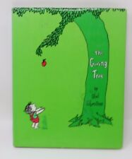 The GIVING TREE Shel Silverstein HB/DJ Early Edition 6 line copyright page