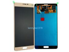 For Samsung Galaxy Note 4 N910F N910C LCD Display Touch Screen gold+cover+tool