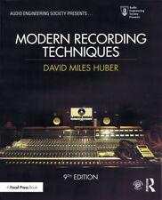 Modern Recording Techniques 9th Edition Book 000275864
