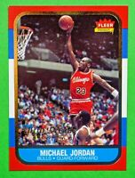 1996 Fleer MICHAEL JORDAN #U-4 Decade of Excellence Rookie Tribute NM-MT+