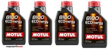 Aceite Motor Ford Land Rover Volvo A5/B5 Motul 8100 Eco-nergy 5W30, 4 L