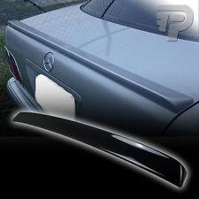 PAINTED W210 Mercedes BENZ REAR TRUNK SPOILER BOOT SEDAN 040 BLACK ▼