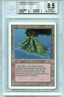 MTG Revised Dual Land Volcanic Island BGS 8.5 NM-MT+ Magic Card