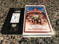 Jumanji Clamshell VHS! 1995 Fantasy Thriller! Hook Jack RV Toys Noel Shrink