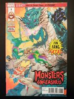 MONSTERS UNLEASHED! #8a (2018 MARVEL Comics) ~ VF/NM Comic Book