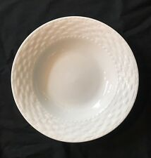 Haus (Basketweave Pattern) Soup / Cereal Bowl ~new~