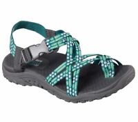 Skechers Reggae Loopy Strappy River Sandals Trail Hiking Sport Womens Shoe 40875