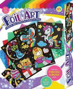 Foil Art  6 in 1 Craft Box Set