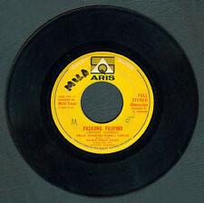 Philippines NELLIE ARAGON-DANILO SANTOS Paskong Pilipino OPM 45 rpm Record