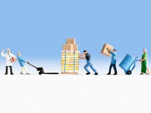 N Scale people - 36038 - Warehouse men