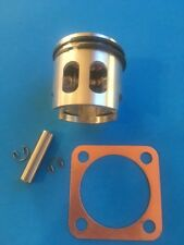 REED VALVE PISTON 66CC 80CC 2-Stroke Engine EXTRA HP + 100% COPPER HEAD GASKET