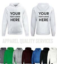 Personalised Hoodie Custom Printed Hoodie Unisex Jumper Top Workwear Event Stag