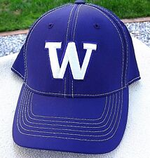 new styles 7d805 bf0cf New ListingNEW WASHINGTON HUSKIES Purple Fitted Ball Cap, Hat Size S M