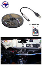 1M 5V USB LED STRIP LIGHT Muti Colour TV PC Car BACKGROUND LIGHTING with Remote