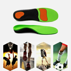 Work Boot Orthotic Foot Arch Support Shoe Inserts Gel Massaging Heel Insoles Pad