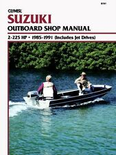CLYMER DT200 OUTBOARD SUZUKI SERVICE REPAIR SHOP MANUAL 2-225 HP 1985-1991