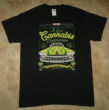 HIGH TIMES 2005 CANNABIS CUP RAW Rolling Papers T SHIRT Size M San Bernardino,CA