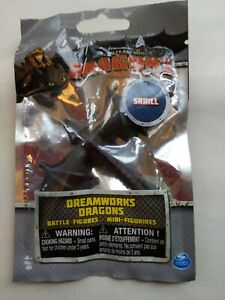 HOW to TRAIN YOUR DRAGON2  MINI DRAGON 2014  *SKRILL* BATTLE MINI FIGURINE. Bn8