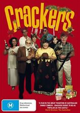 Crackers DVD Peter Rowsthorn Brand New & Sealed Australian Release