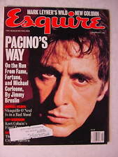 ESQUIRE February 1996 AL PACINO NAOMI CAMPBELL SHAQUILLE O'NEAL COURTNEY LOVE ++