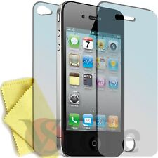 6 pz Pellicole Per iPhone 4 4S 4th Proteggi Display Pellicola 3 Fronte + 3 Retro