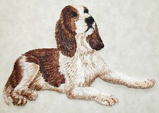 Dog - Welsh Springer Spaniel - Embroidered Iron On Applique Patch