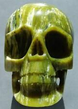 5.39LB Yellow TURQUOISE Skeleton,Crystal Healing SKULL