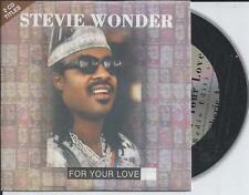 STEVIE WONDER - For your love CD SINGLE 2TR EU CARDSLEEVE 1995