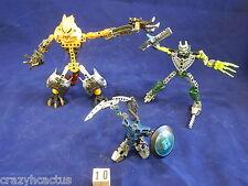 Lego Bionicle 3 Figures Pieces Guns Hero Factory Parts Weapons Masks Vintage #10