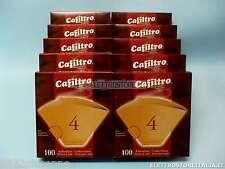 FILTRI CAFFE' N°4 CAFFE' AMERICANO CAFFE' D'ORZO 1000pz