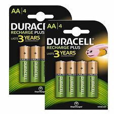 Duracell AA(HR6) 1300mAh Pre Stay Charge Rechargeable NiMH Batteries