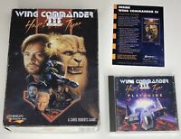 Wing Commander 3 Heart of the Tiger PC game CDRom MS-DOS 1994 INCOMPLETE Big Box
