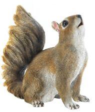 Small Happy Bushy Tail Squirrel Outdoor Garden Statue Yard Patio Decor Sculpture