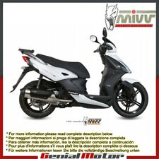Mivv Complete Exhaust Urban Stainless Steel Kymco Agility 125 R16+ 2014 > 2016